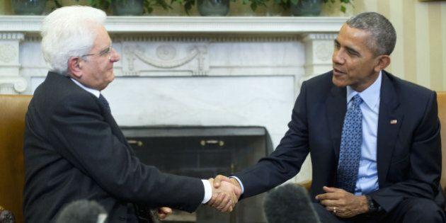 Sergio Mattarella incontra Barack Obama: sì all'ingresso della Nato nella gestione migranti, condivisa...