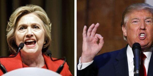 Donald Trump e Hillary Clinton pronti allo scontro dopo ultime primarie. I due si punzecchiano da candidati...