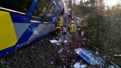 Due treni si sono scontrati in Alta Baviera in
