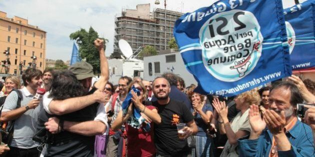 Referendum sull'acqua, Pd toglie l'obbligo di gestione pubblica. M5S e Sel: