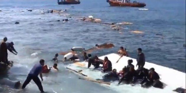 Augusta, con i vigili del fuoco pronti a recuperare 500 migranti dal mare: