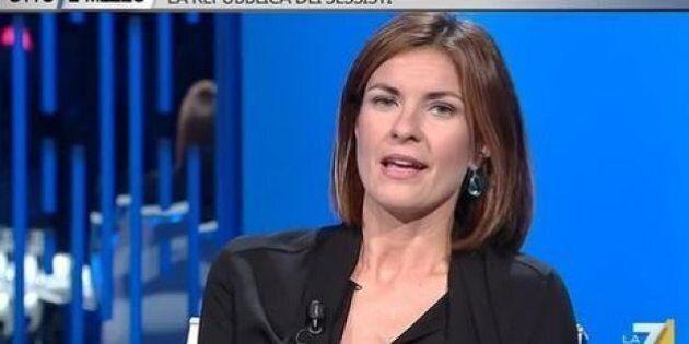 Alessandra Moretti a Otto e Mezzo: