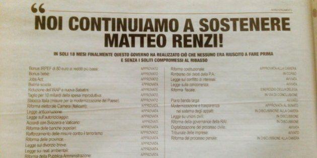 Lettera sul Corriere a sostegno di Matteo Renzi, chi sono i 209 firmatari