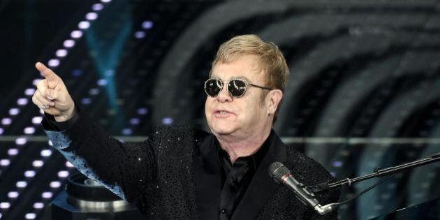 Sanremo 2016: Elton John, la vera sorpresa alla fine è stata la sua
