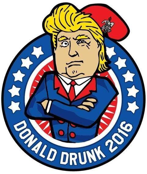 Al Carnevale d'Ivrea spunta Donald Drunk. Ma qual è il limite della