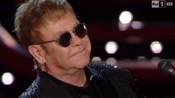 Elton John non parla di unioni civili ma i big fanno per
