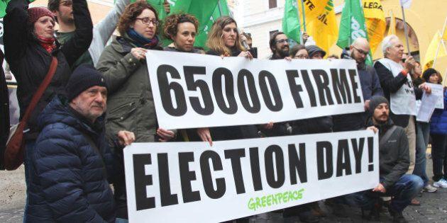 Petrolio. Sinistra italiana presenta la proposta di legge per l'election day