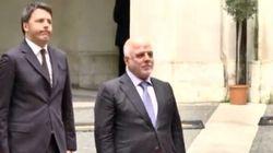 Il picchetto confonde l'Iraq con l'Iran e Renzi se la