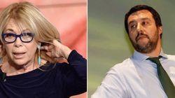Matteo Salvini contro Rita Dalla Chiesa. Lei si ritira dalla