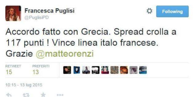 Accordo raggiunto in Grecia, le reazioni su twitter dei politici italiani. Salvini: