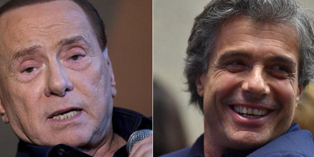 Silvio Berlusconi e Alfio Marchini: