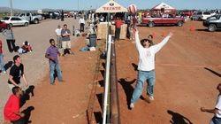 Wallyball, il muro al confine tra Messico e Usa diventa una rete da