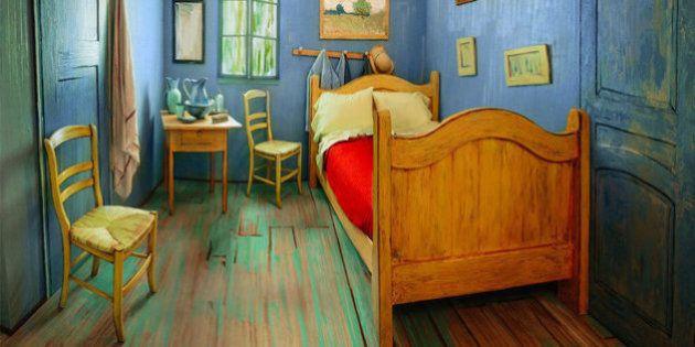 Un museo ha ricreato la stanza di Van Gogh e adesso puoi ...