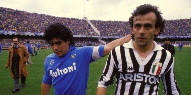 Sandro Veronesi in porta, Erri De Luca alla Maradona: Juve-Napoli è già un