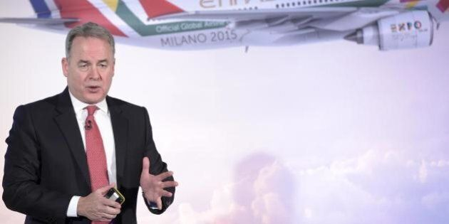 James Hogan, vicepresidente Alitalia: