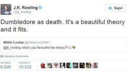 La Rowling rivela qual è la