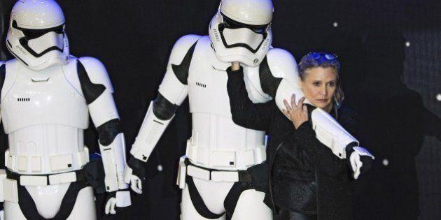 Star Wars, la principessa Leia rivendica il suo diritto a invecchiare e sbotta contro le critiche sui