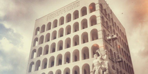 The Palazzo della Civiltà Italiana, also known as the Palazzo della Civiltà del Lavoro or simply the...