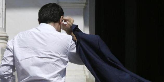 Alexis Tsipras a mani vuote: doveva minacciare la