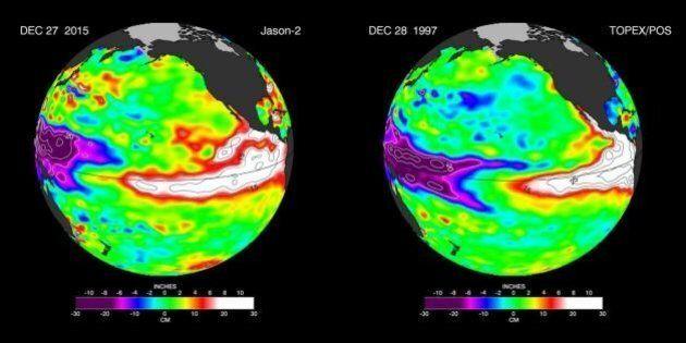 El Niño, allerta della Nasa:
