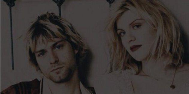 Courtney Love con Kurt Cobain e la figlia su Instagram. I fan: