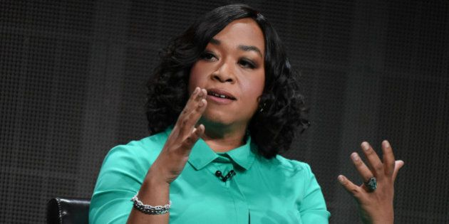 Creator/Executive Producer Shonda Rhimes speaks onstage during
