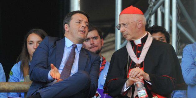Unioni civili, Renzi e Grasso difendono le istituzioni da Bagnasco. E anche Galantino prende le
