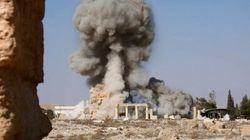 L'Isis diffonde le immagini della distruzione del Tempio di Baalshamin a
