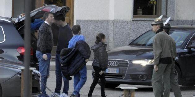 Matteo Renzi con la famiglia a Courmayeur per il cenone di Capodanno. Ma stavolta in