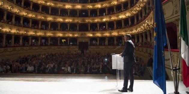 Matteo Renzi a Pesaro:
