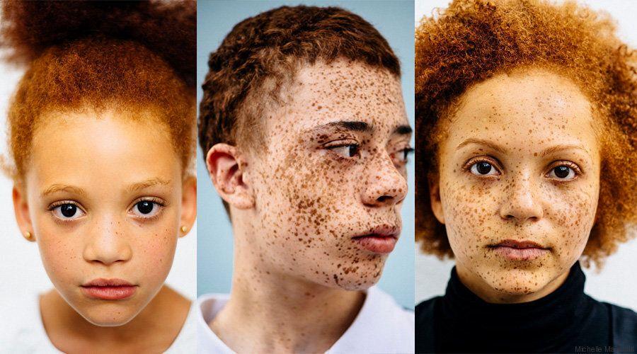 Un progetto fotografico di Michelle Marshall per esplorare la bellezza delle persone con i capelli rossi