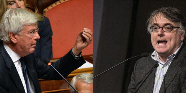 Riforma, doppia ammuina al Senato. Forza Italia minaccia sfracelli poi soccorre il governo. La minoranza...
