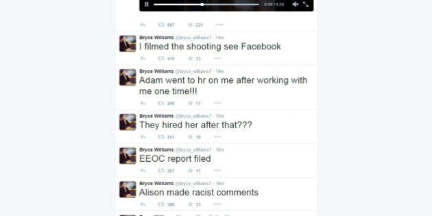 Vester Flanagan si registra mentre spara ad Alison Parker e Adam Ward: