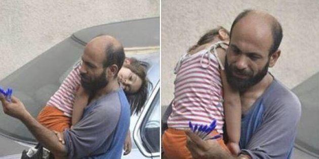 Vedono la foto di questo profugo siriano nei social, lo rintracciano a Beirut per aiutarlo a sfamare...