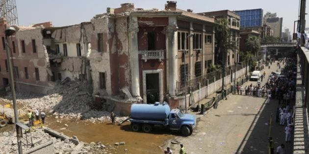 Attentato consolato italiano Il Cairo, identificati i tre presunti