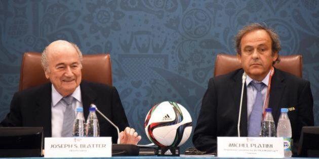 Joseph Blatter e Michel Platini sospesi per 90 giorni dal comitato etico della