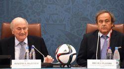 Blatter e Platini sospesi per 90