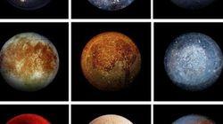 Solo una di queste sfere è la Luna di Giove. Le altre sono fondi di