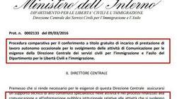 Ministero di Alfano cerca giornalista che lavori gratis. Il sindacato: