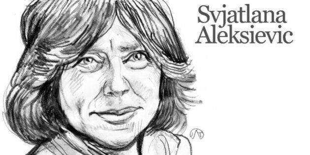Svetlana Aleksievic, bibliografia del nuovo premio nobel Nobel, che ha ricevuto la notizia mentre stava