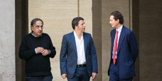 Matteo Renzi stringe i rapporti con Marchionne e gli investitori del 'gran mondo'. In attesa di riformare...