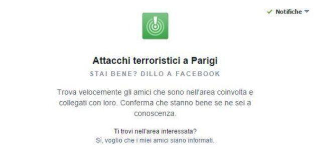 Facebook ti aiuta a sapere se i tuoi amici a Parigi stanno bene: l'alert sul social