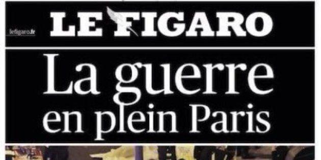 Gli attentati di Parigi sulle prime pagine dei giornali francesi: