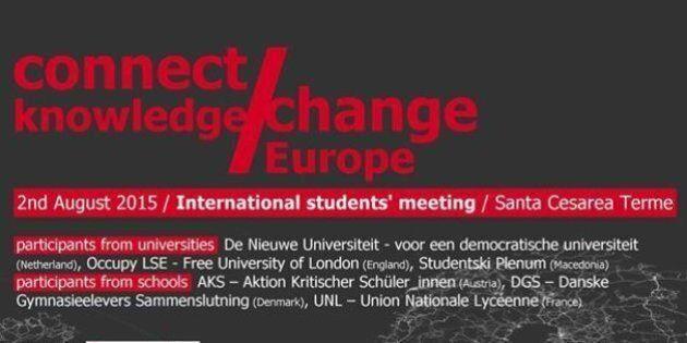 In Europa grande è la confusione sotto il cielo: noi studenti proviamo ad