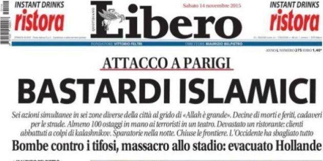 Attentati a Parigi, dai giornali di destra alla Lega fino a esponenti Pd: guerra all'Isis (FOTO,