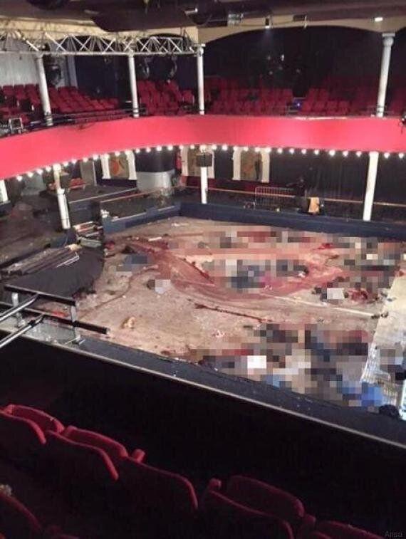 La foto shock del Bataclan dopo il massacro: cadaveri sul pavimento del teatro intriso di
