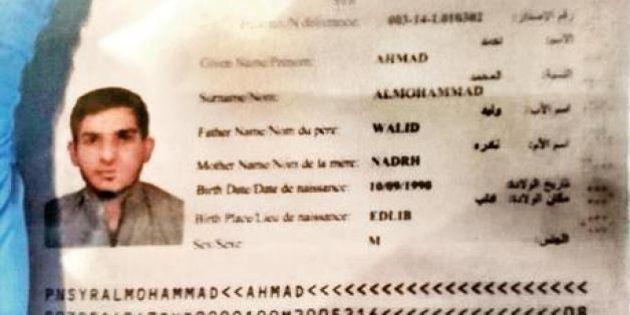 Quel passaporto siriano a