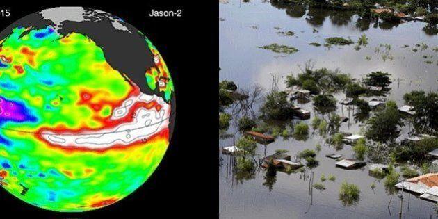 El Nino fa danni da gigante in Sudamerica. Piogge e inondazioni. Deforestazioni sul banco degli