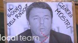 Internet day, contestazioni a Pisa: la polizia carica. Due attivisti