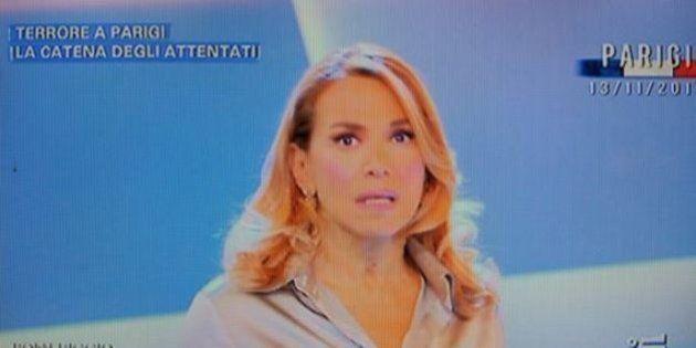 Parigi, capogruppo Forza Italia Paolo Romani contro Barbara D'Urso: